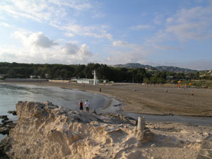 Main Beach at Moraira